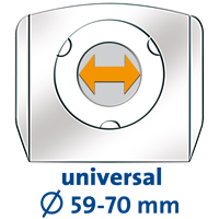 CASF2_Universal Halteplatte